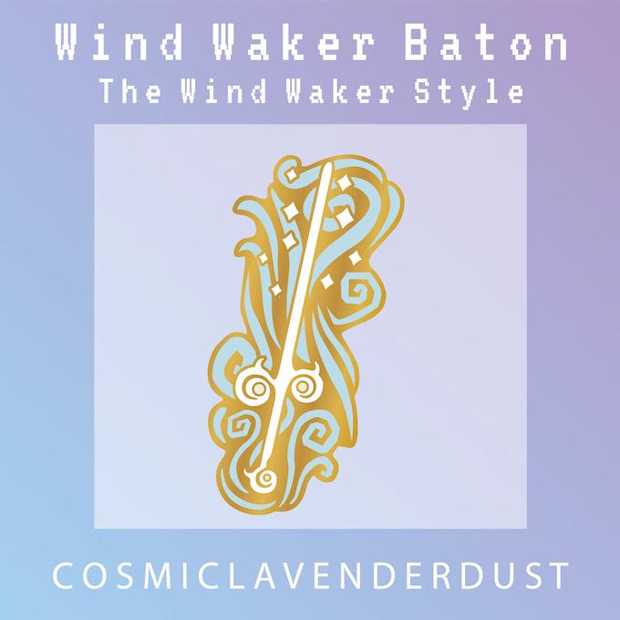 Wind Waker Enamel Pins - inspired by TLoZ