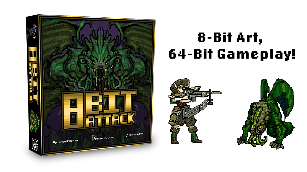 8-Bit Attack project video thumbnail