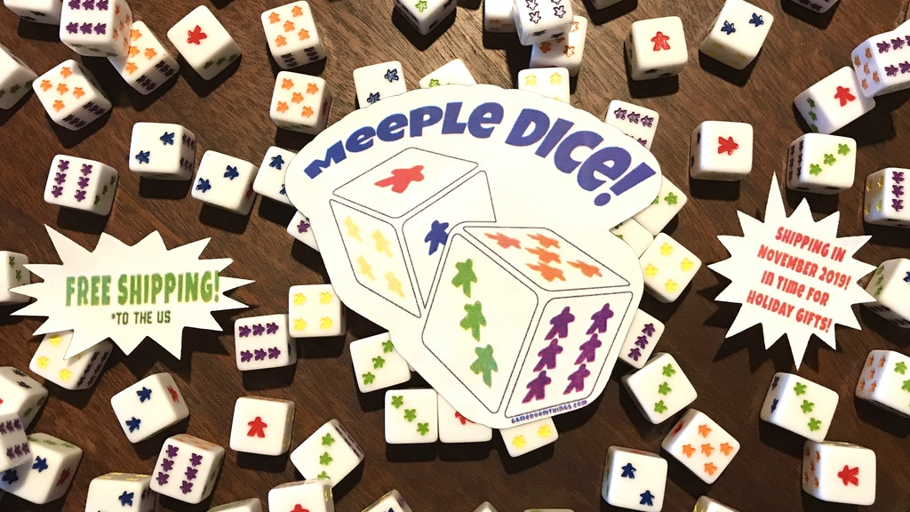 Project image for Meeple Dice!!!