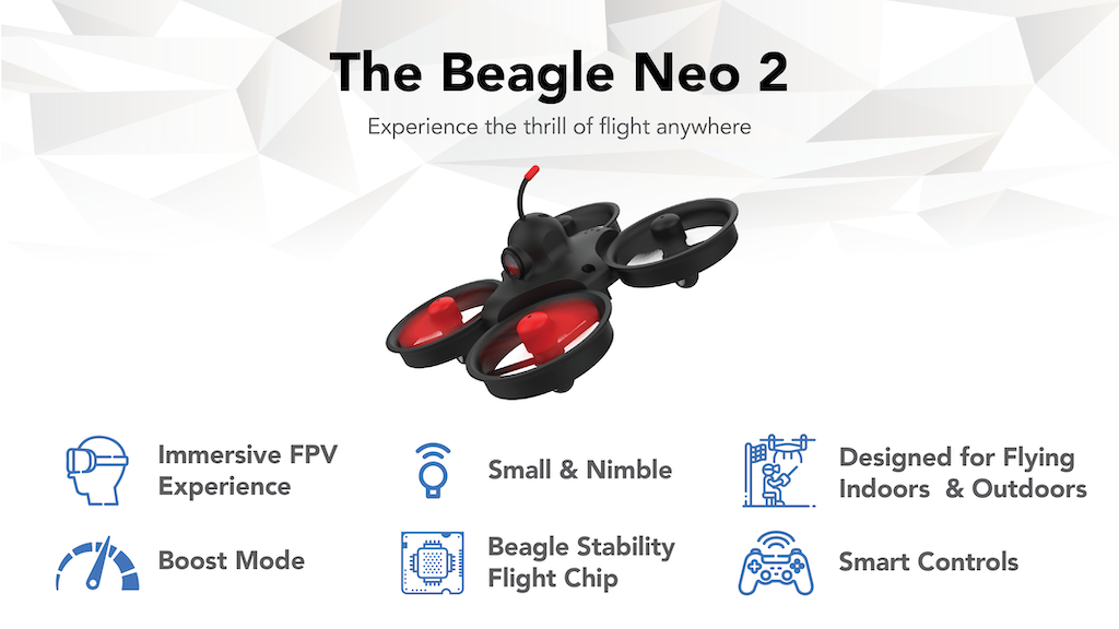 Beagle Neo 2 | Immersive Mini Drone Experience project video thumbnail