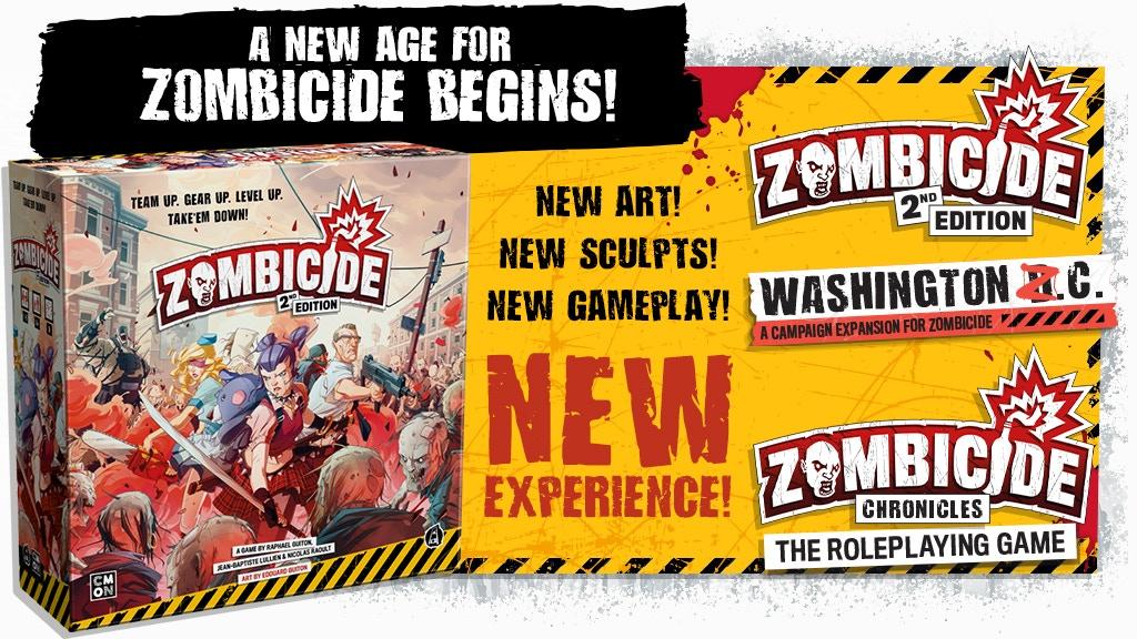 Miniature de la vidéo du projet Zombicide: 2nd Edition