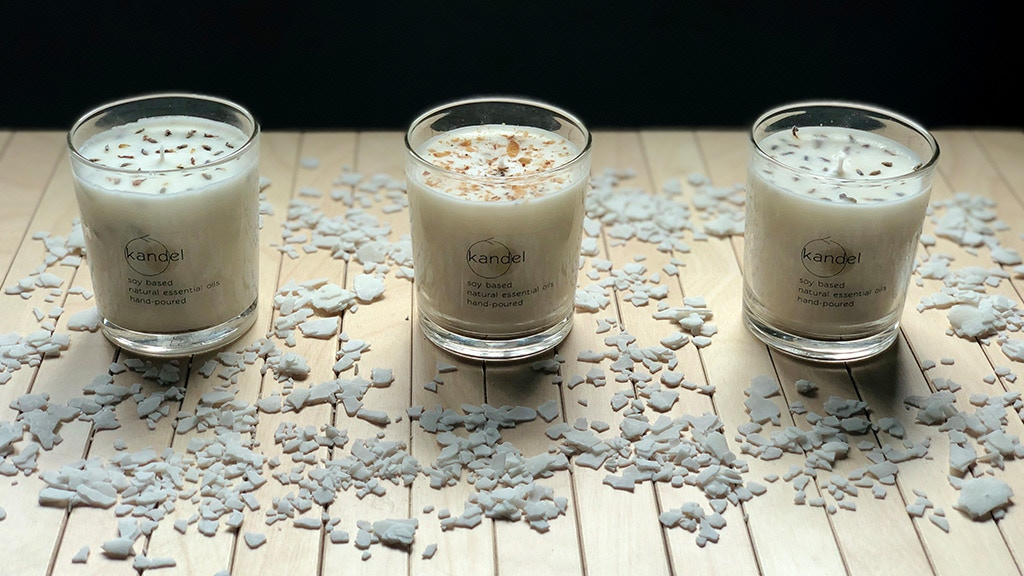 Project image for Kandel: Sustainable scented candles