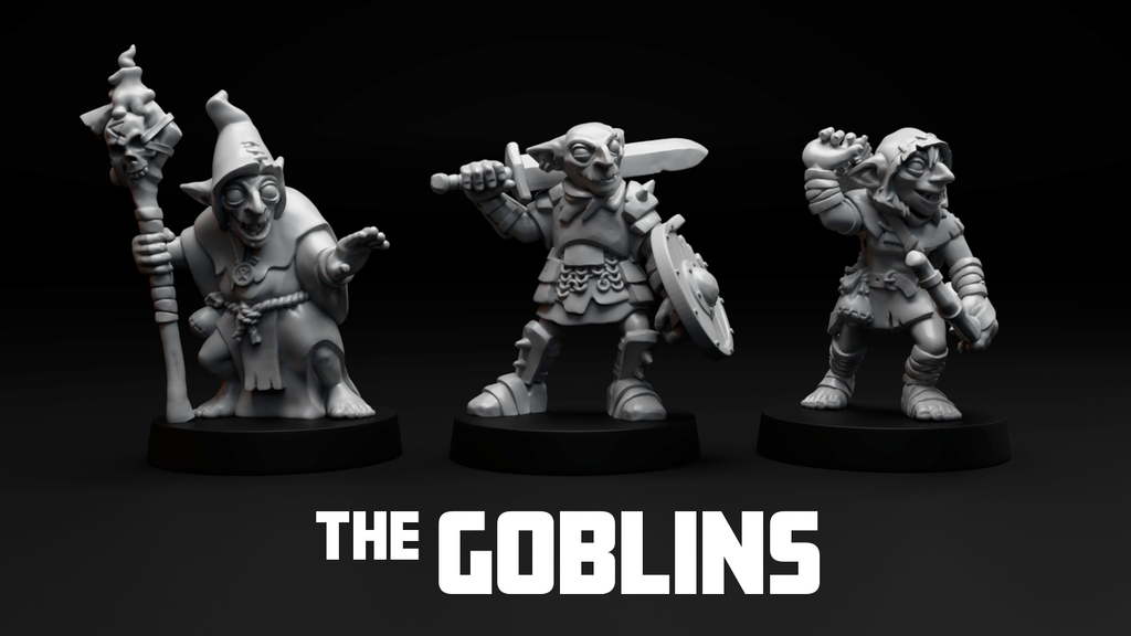 The Goblins - 28mm fantasy miniatures project video thumbnail