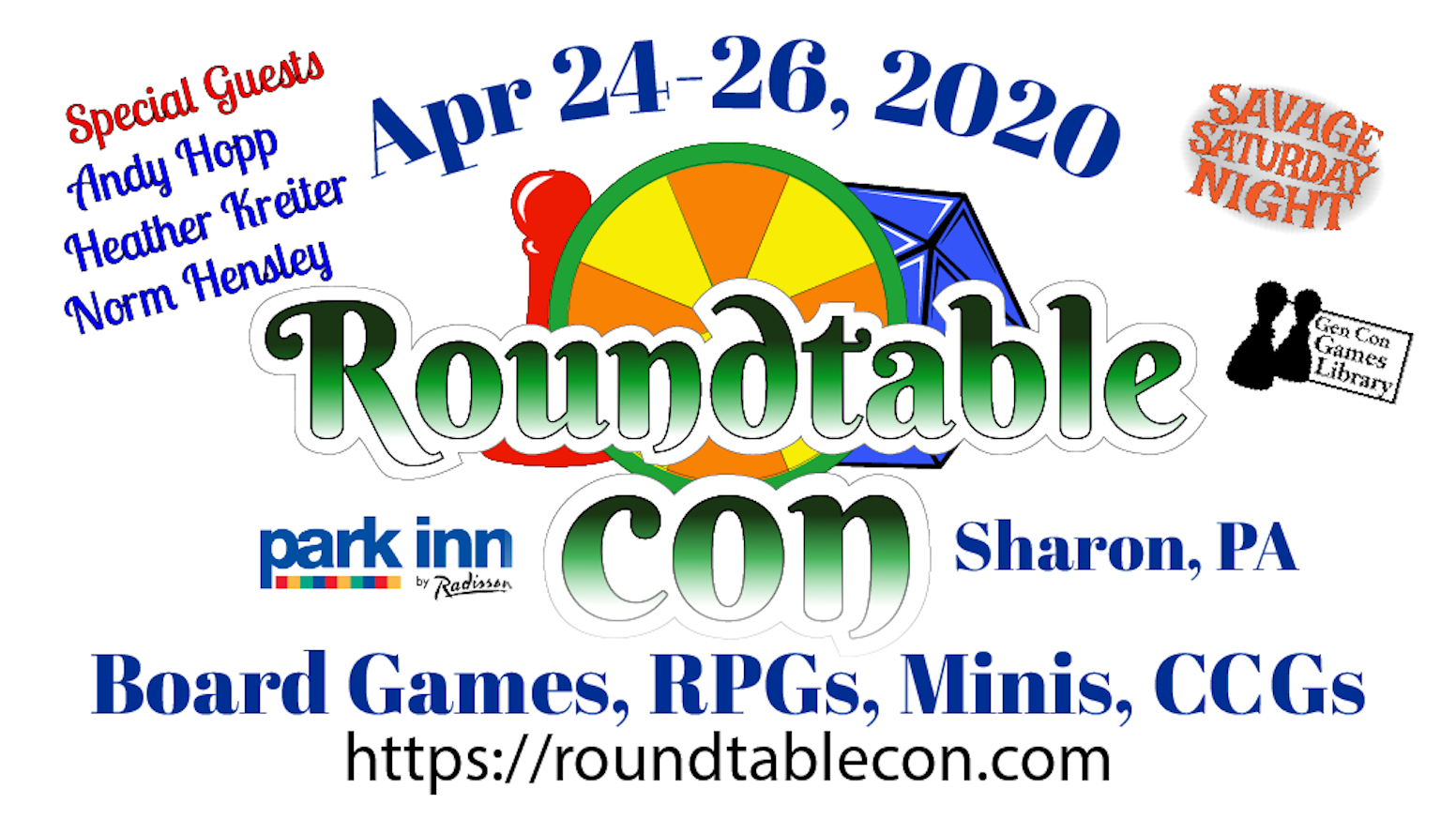 A 3-day tabletop game convention