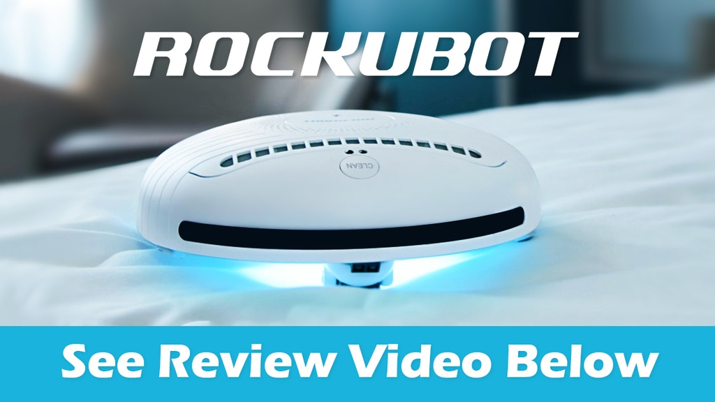 ROCKUBOT: The Sterilizing Music-Playing ROBOT for Your Beds project video thumbnail