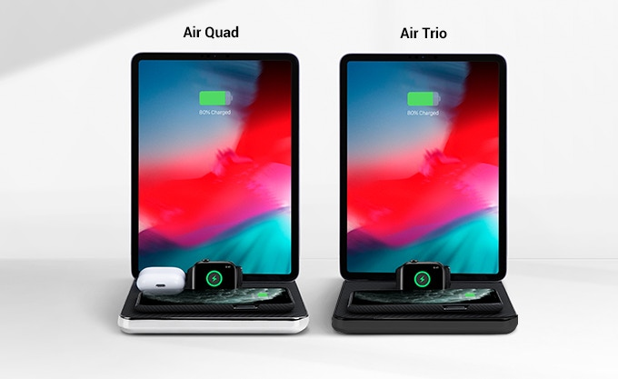 Air Quad: MFi 4-in-1 Wireless Charger for All Apple Devices