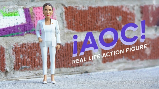 Walton And Johnson - Now You Can Buy a Plastic AOC Action Figure