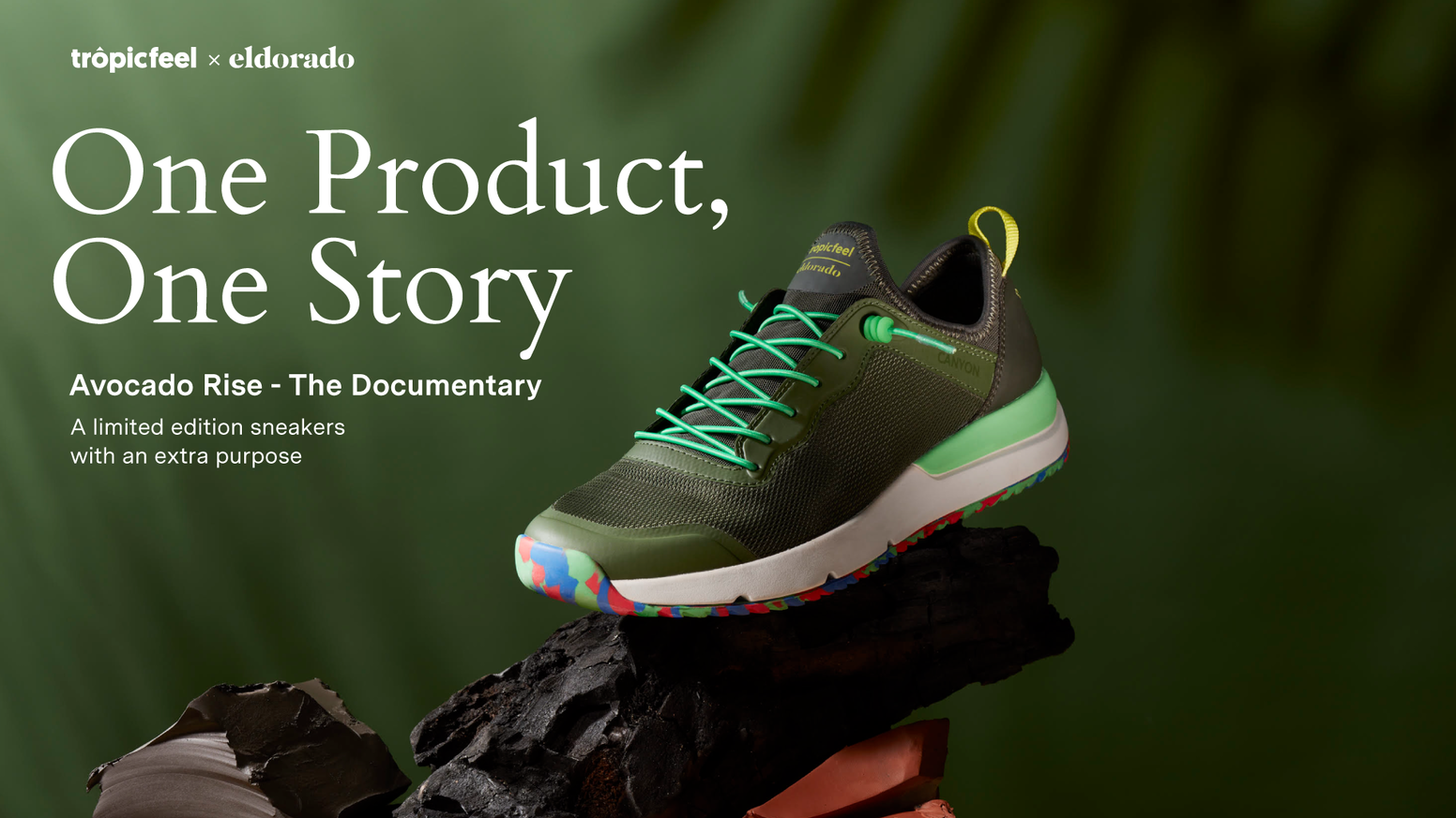 Kickstarter's #1 best-selling shoe is back with an extra purpose.  Turn invisible problems into documentaries that report social issues
