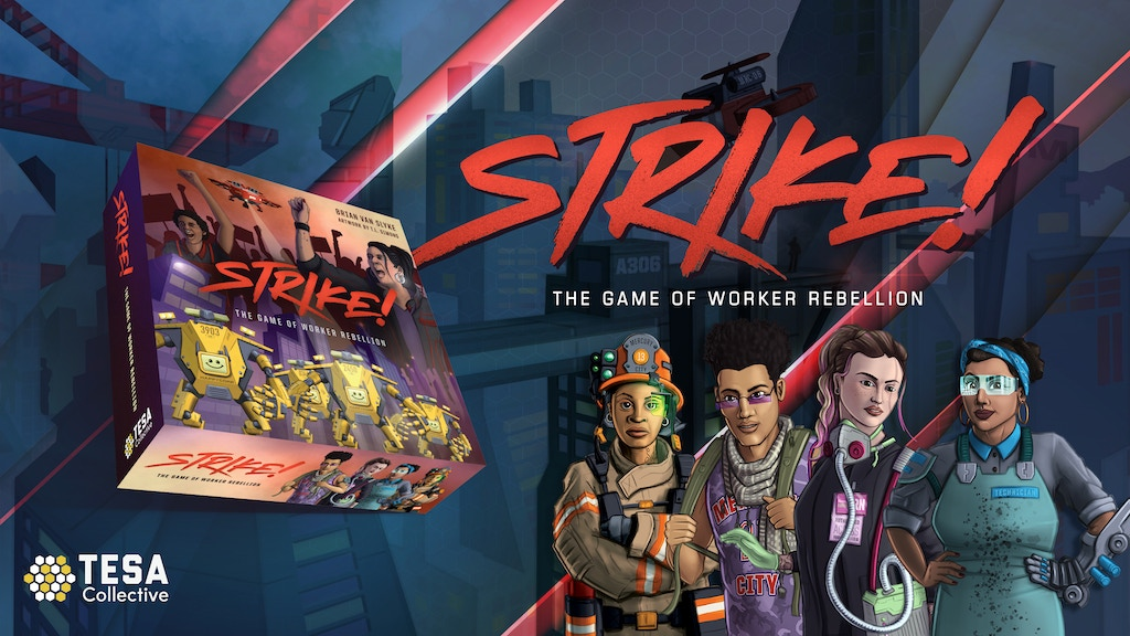 STRIKE! The Game of Worker Rebellion project video thumbnail