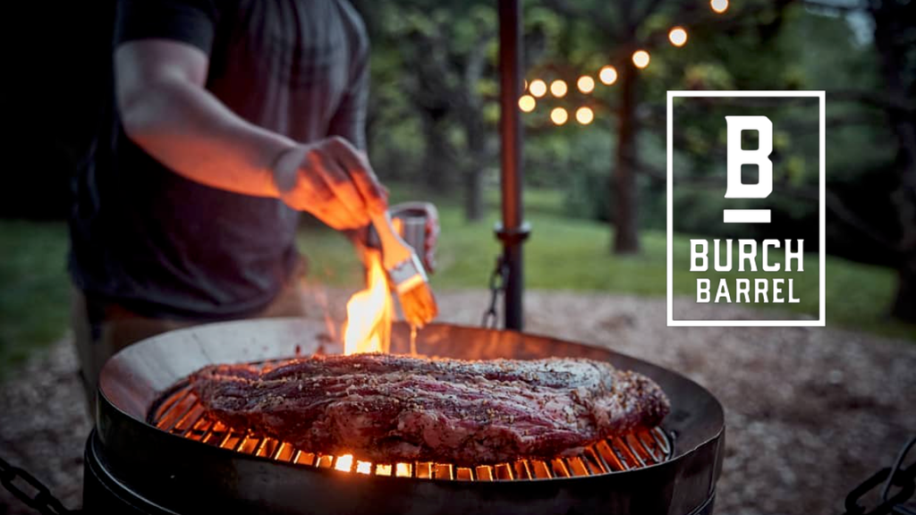 The Burch Barrel's redesigned grilling system is the best I've ever seen
