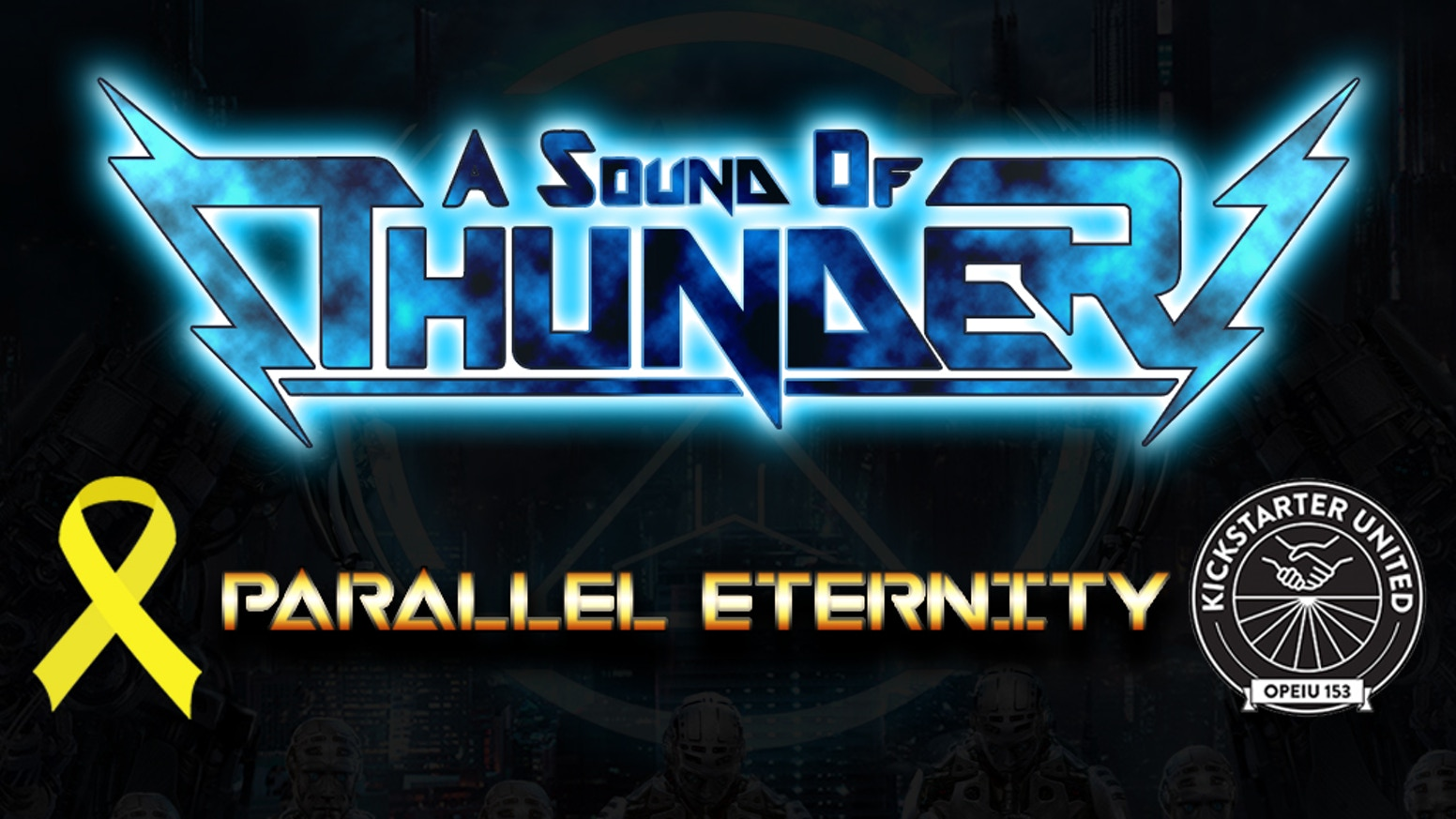 Parallel Eternity, an orchestral metal double-album celebrating ten years of A Sound of Thunder and featuring composer Brad Charles.