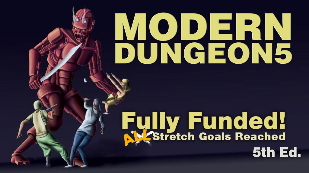 MODERN DUNGEON5 project video thumbnail