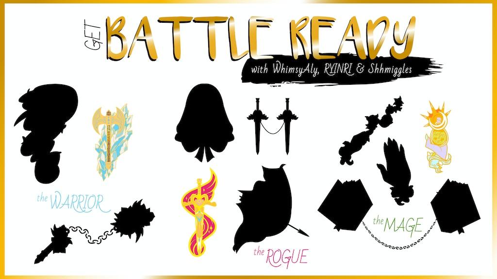 Project image for Battle Ready! An Enamel Pin Set