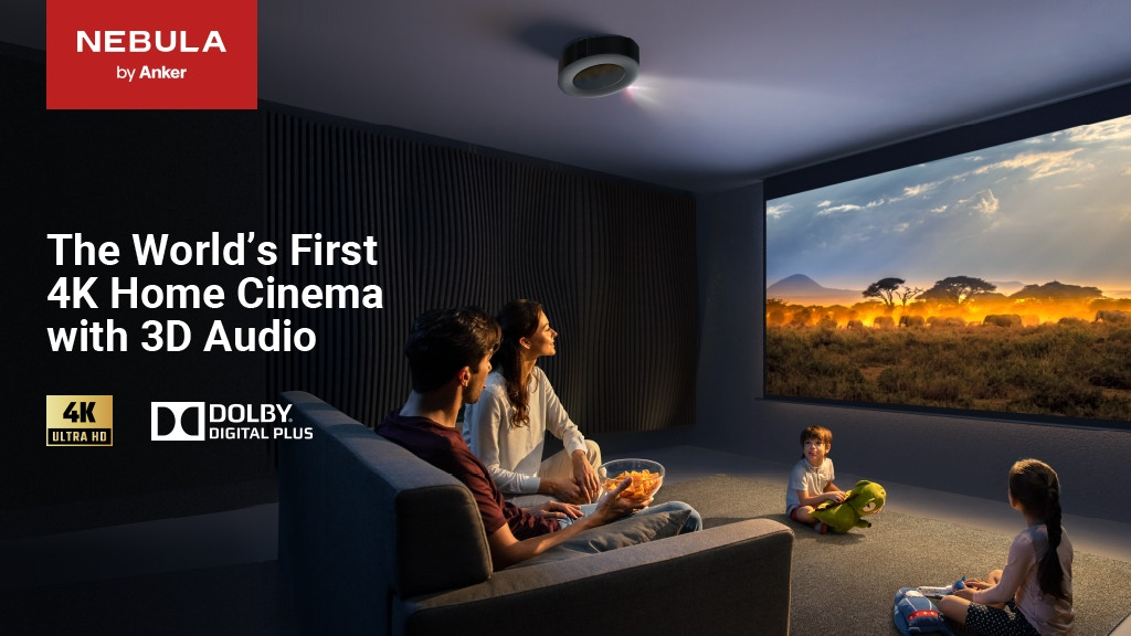 Nebula Cosmos Max: World's 1st 4K Home Cinema with 3D Audio project video thumbnail