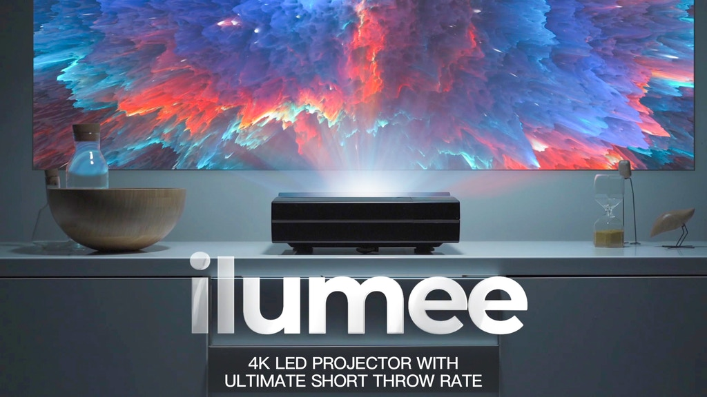 ilumee: 4K LED Projector with Ultimate Short Throw Rate
