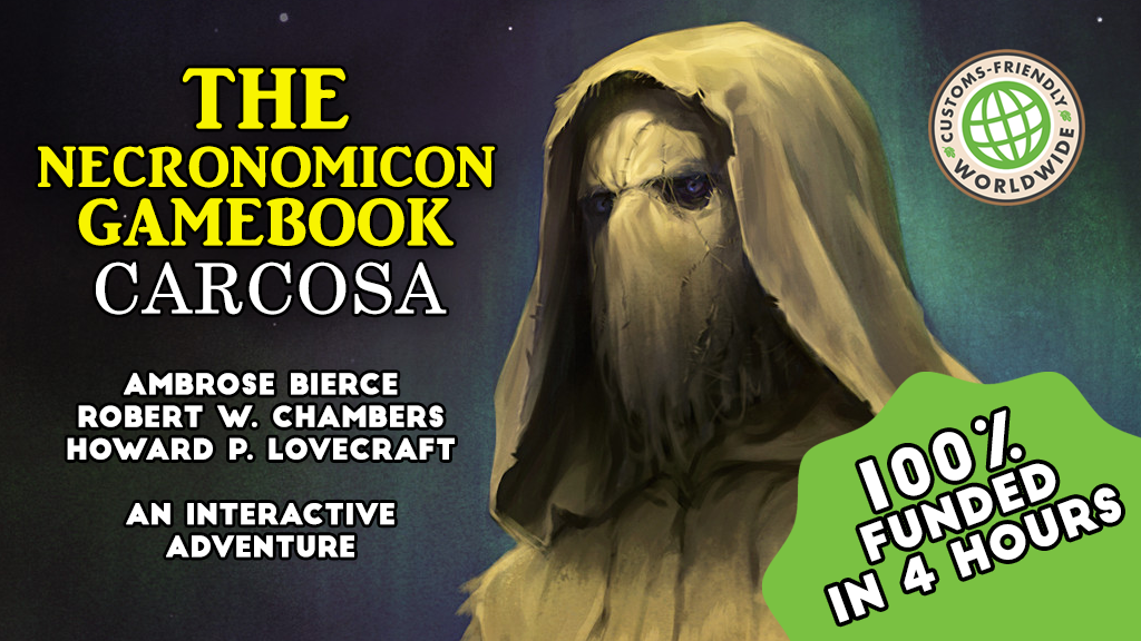 THE NECRONOMICON GAMEBOOK - CARCOSA project video thumbnail