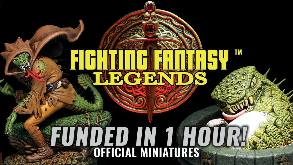 Fighting Fantasy Legends: 28mm Resin Miniatures project video thumbnail