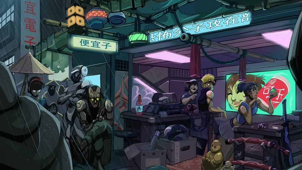 Project image for The Border Colonies RPG (Canceled)