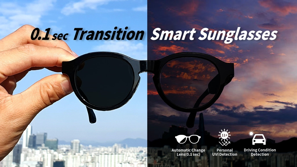 Project image for GLATUS : Smart Sunglasses for safe outdoor activities