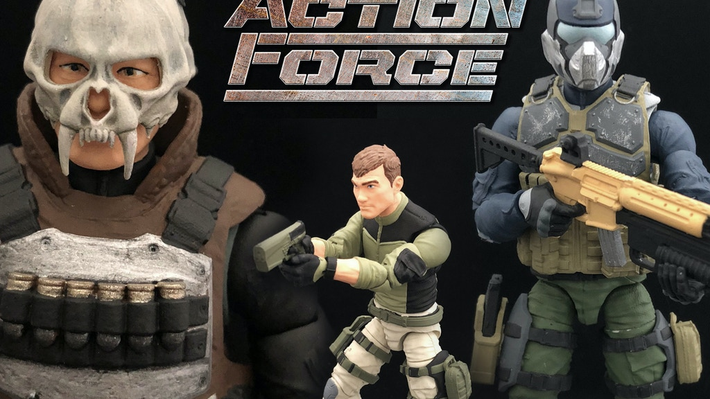 "ACTION FORCE - 1:12 (6"") Scale Military Action Figures project video thumbnail"