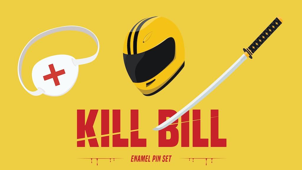 Project image for Kill Bill enamel pin set