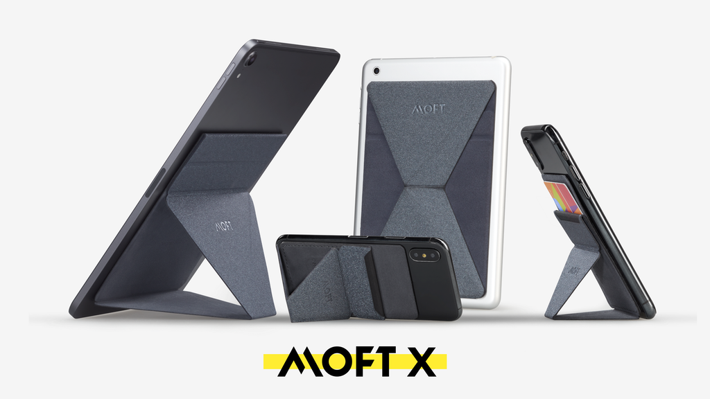 MOFT X - Invisible and Foldaway Stand for Phone/Tablet project video thumbnail