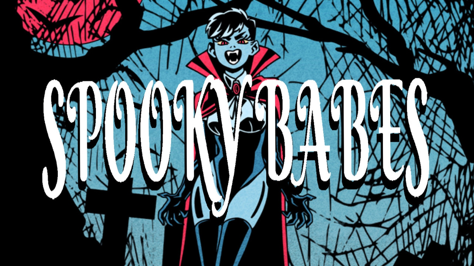 Welcome to the Spooky Babes: Art Book print bundle and Knights of Lust Comic Kickstarter! Full of sexy, supernatural lesbian fun.