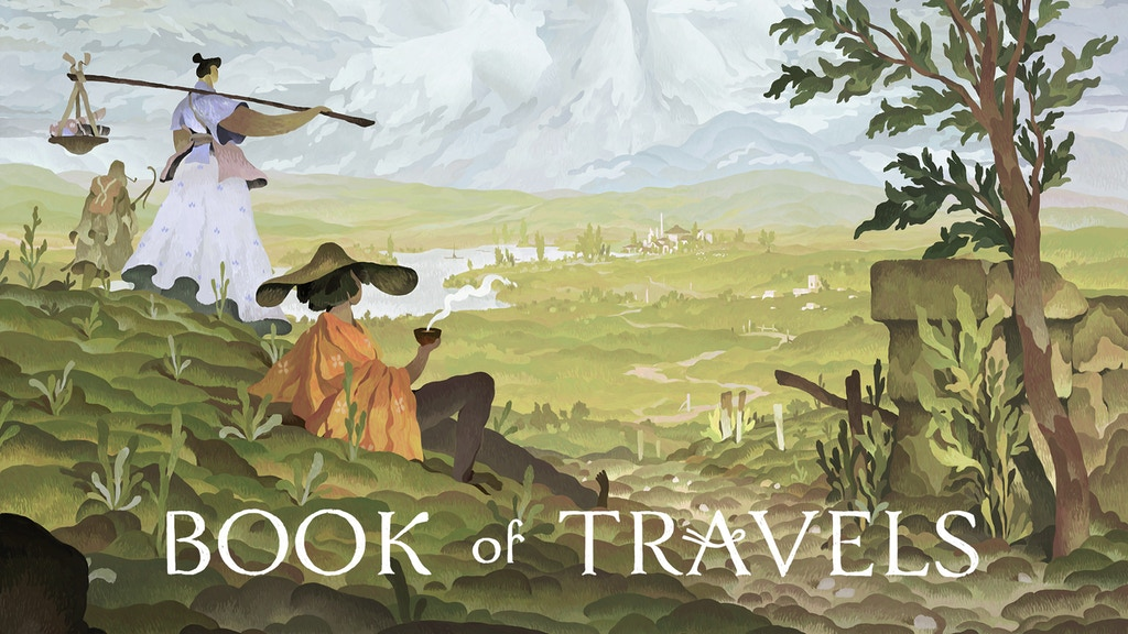 Book of Travels | A serene online RPG project video thumbnail