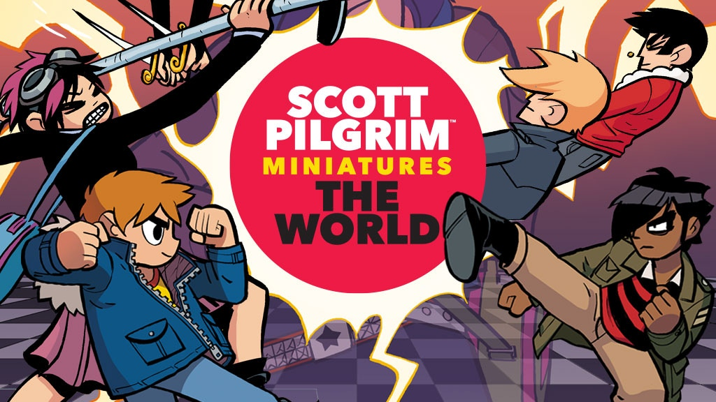 Scott Pilgrim Miniatures the World - Relaunch! project video thumbnail