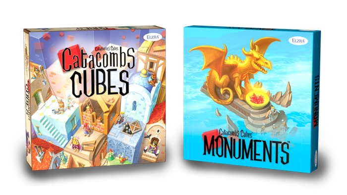 Solve puzzles and assemble buildings out of wooden cubes in this medium weight strategy game. Multiple game modes. Solo play supported.