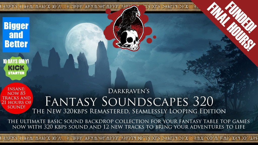 Darkraven Fantasy Soundscapes 320 project video thumbnail