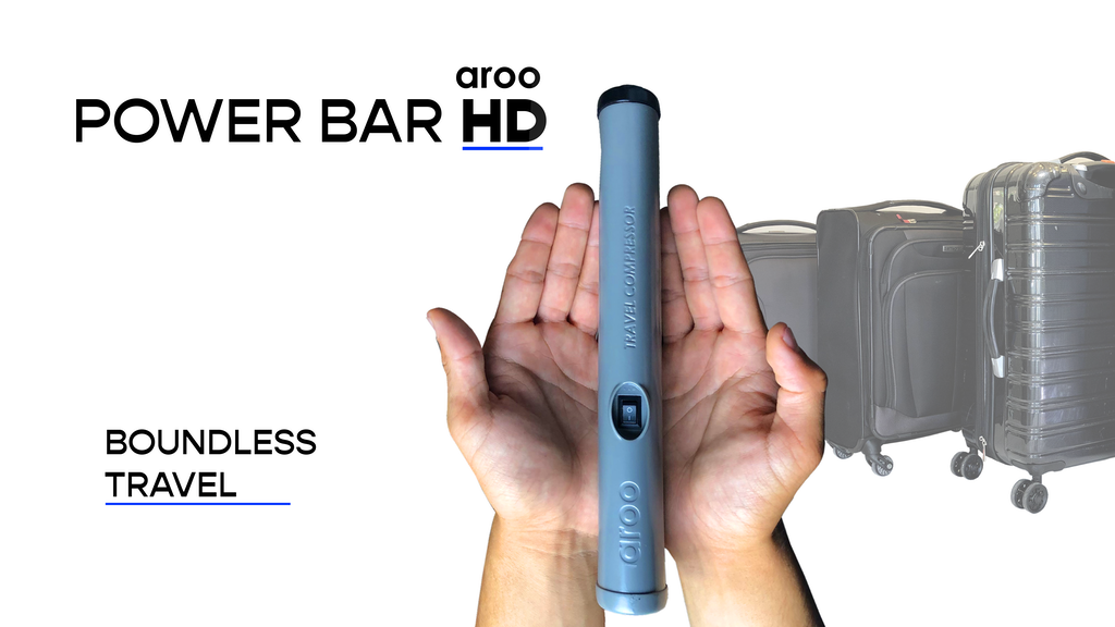 Aroo Power Bar HD | The luggage space struggle ends here project video thumbnail