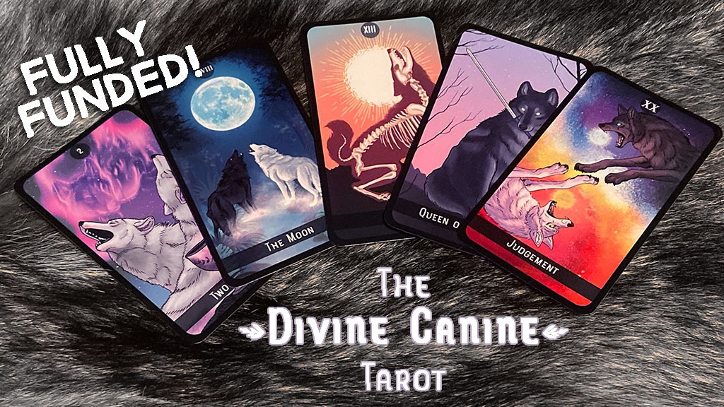 The Divine Canine Tarot Deck project video thumbnail