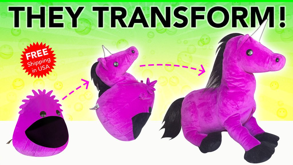 Blobbies • Transforming Plush Toys & Game App project video thumbnail