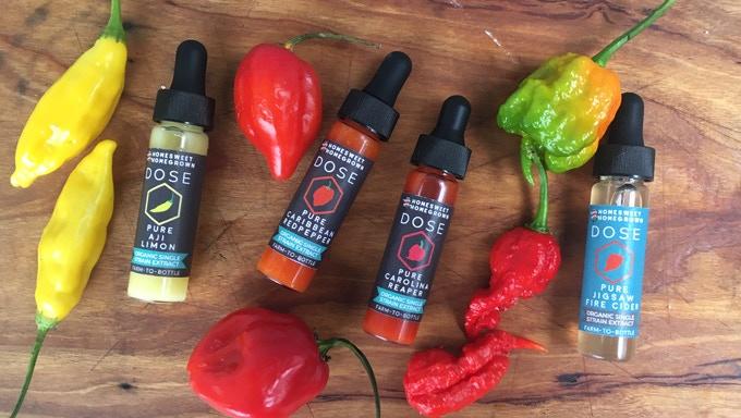 DOSE: Farm-to-Bottle Microdose Hot Sauce