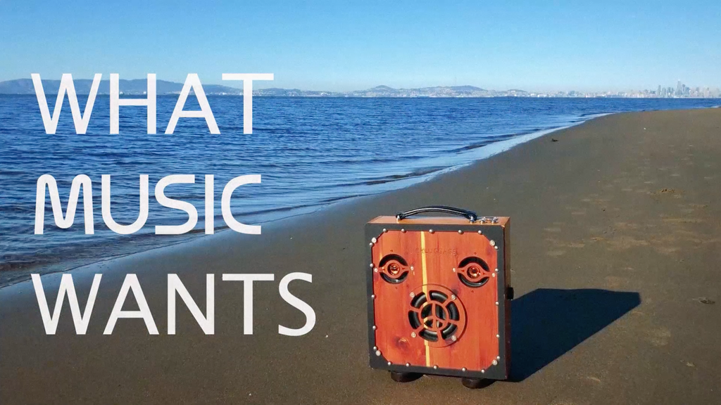 SICKLUGGAGE Wooden Boombox: Harvest 1 Shapeshift Edition project video thumbnail