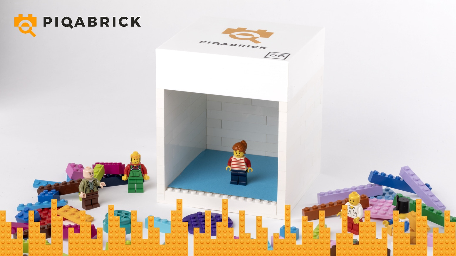 First LEGO® identifier, lightning-fast. Identify any Brick in the blink of an eye