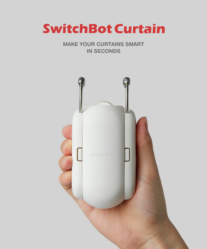 SwitchBot Curtain, make your curtains smart in seconds