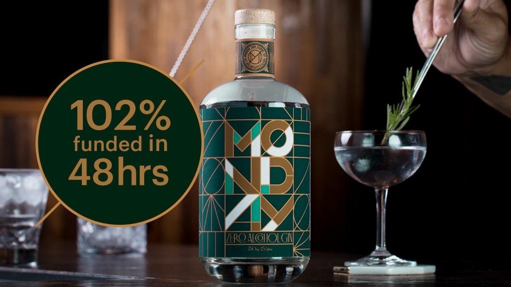 Monday Gin - Zero Alcohol, Amazing Taste. project video thumbnail