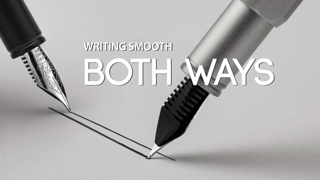 PREMAD Pen - Writing Smooth Both Ways project video thumbnail