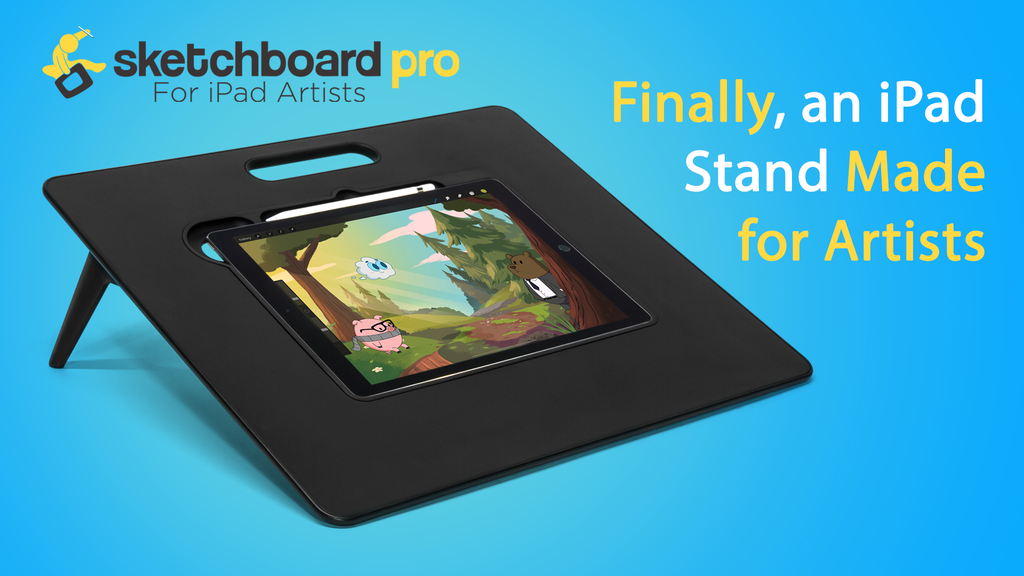 Sketchboard Pro: iPad Stand for Artists project video thumbnail
