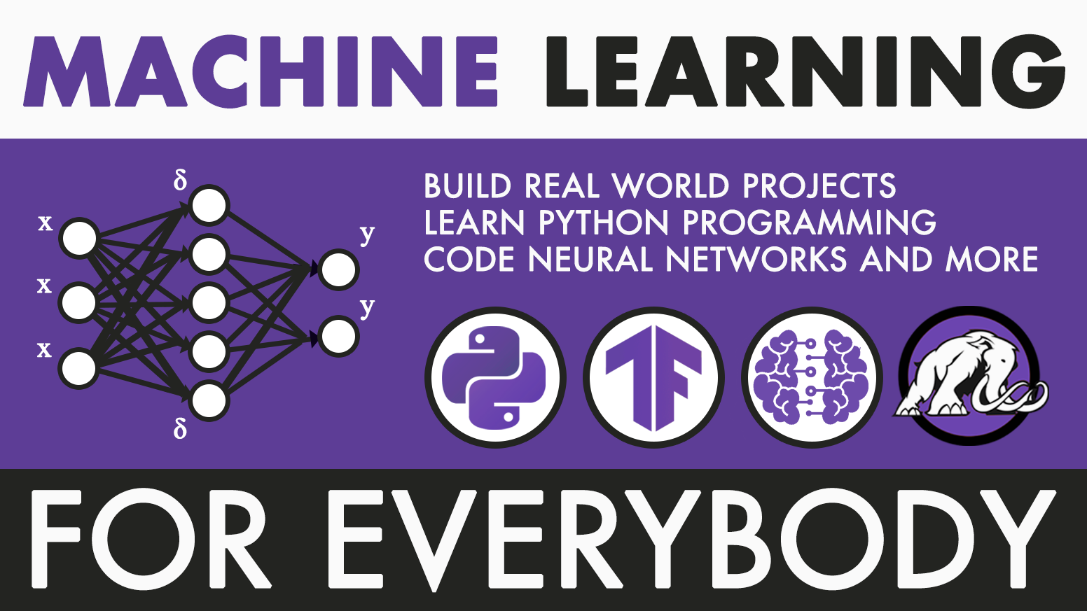 Finally, a course that makes machine learning so easy that everyone can understand it.