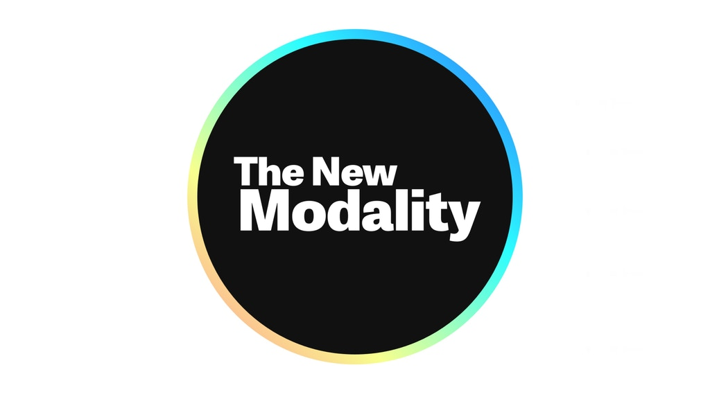 The New Modality project video thumbnail