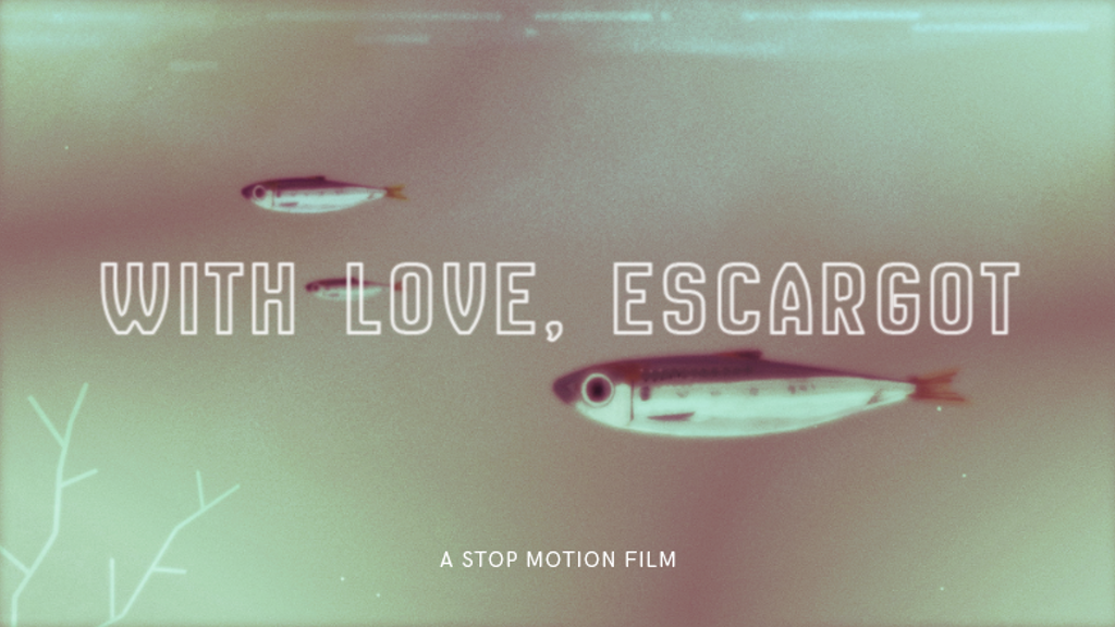 With Love, Escargot: A Stop-Motion Short Film project video thumbnail