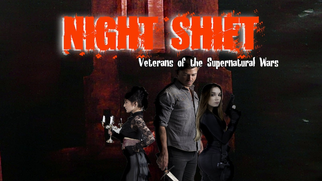 Night Shift: Veterans of the Supernatural Wars RPG project video thumbnail