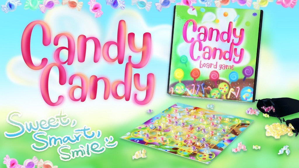 Candy Candy: a Sweet & Wonderful Board Game for Girls & Boys project video thumbnail
