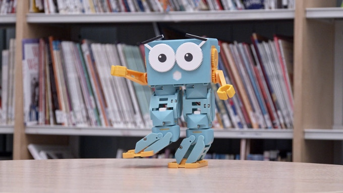 Marty the Robot v2 - The walking, dancing, coding companion
