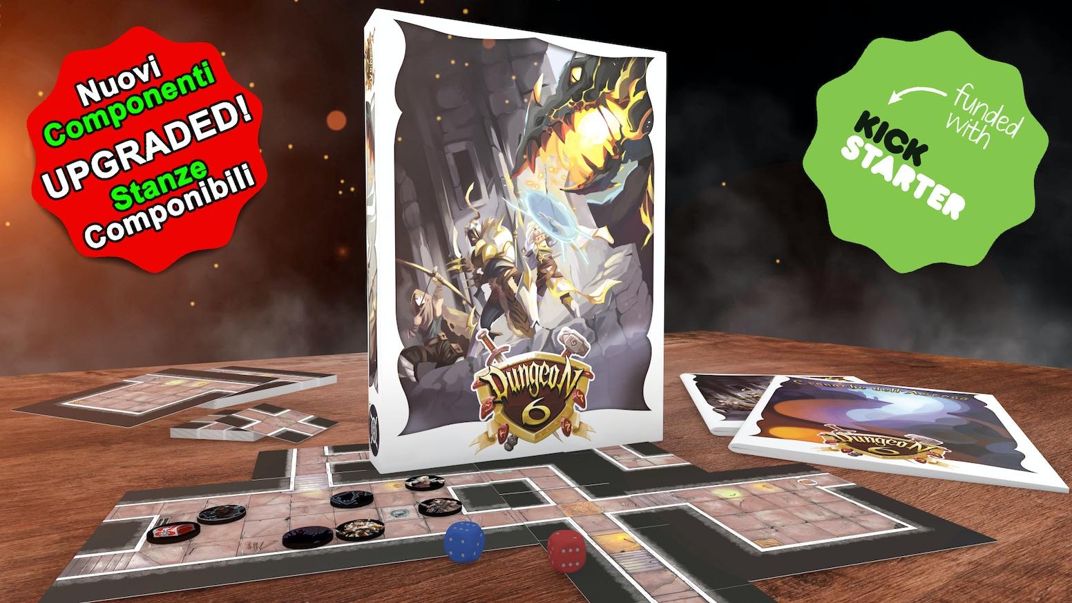 Il nuovissimo Gioco Fantasy Modulare di Esplorazione ed Epici Combattimenti