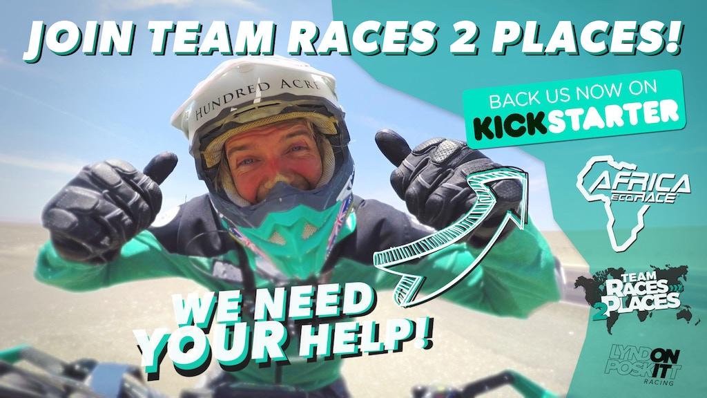Team Races 2 Places - Race 2 Dakar LIVE (Africa Eco Race) project video thumbnail