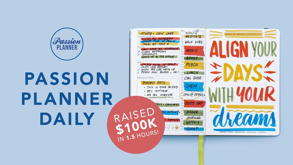 Passion Planner Daily: Align Your Days with Your Dreams project video thumbnail